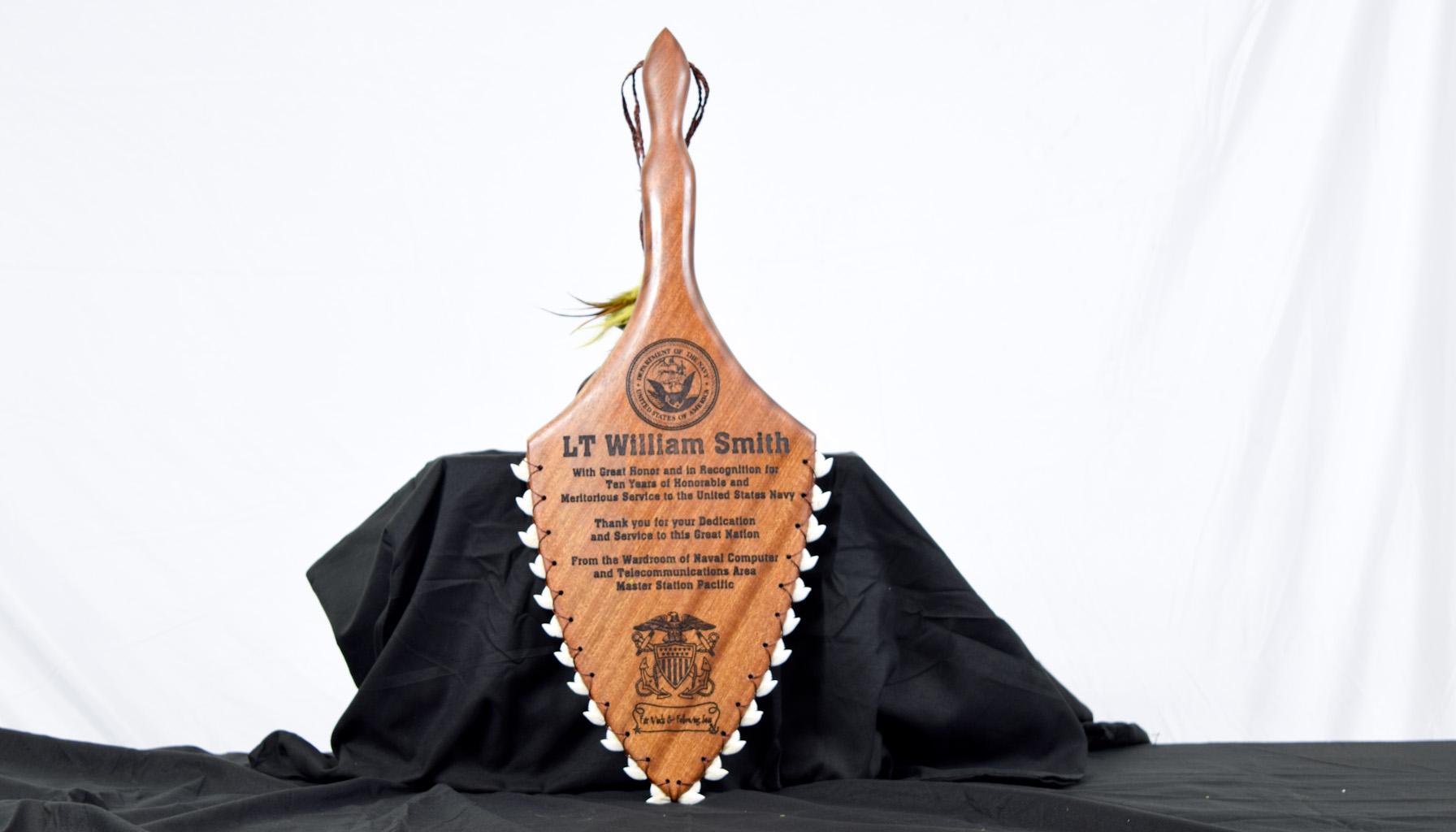 handmade authentic polynesian weapons