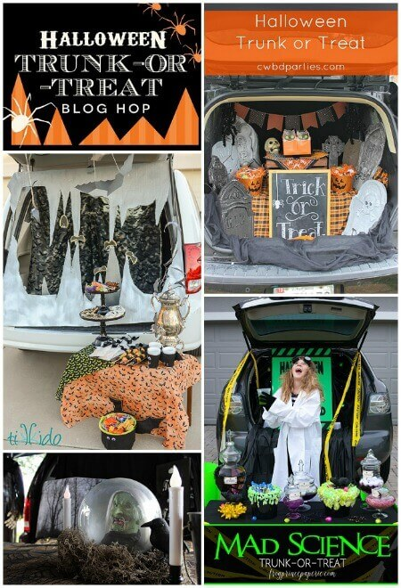 Trunk Or Treat Blog Hop Roundup