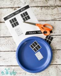 Doctor Who Paper Plates