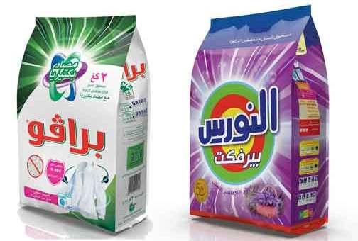 شركة الشاعر للكيماويات منظفات برافو والنورس  دمشق
