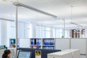 Rantalainen Oy, Hamina, office lighting