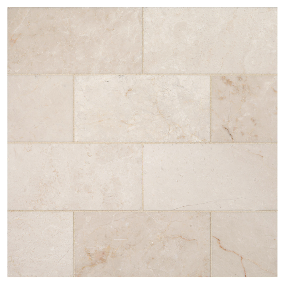 Bourges Beige Polished 3 X 6 Natural Stone Marble
