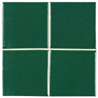 "McIntones Ceramic | Hunter Green 3"" x 3"" Field Tile"