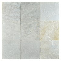 Artic White | Natural Cleft Slate Tile