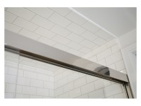 Guest Bath Tiled Shower Ceiling