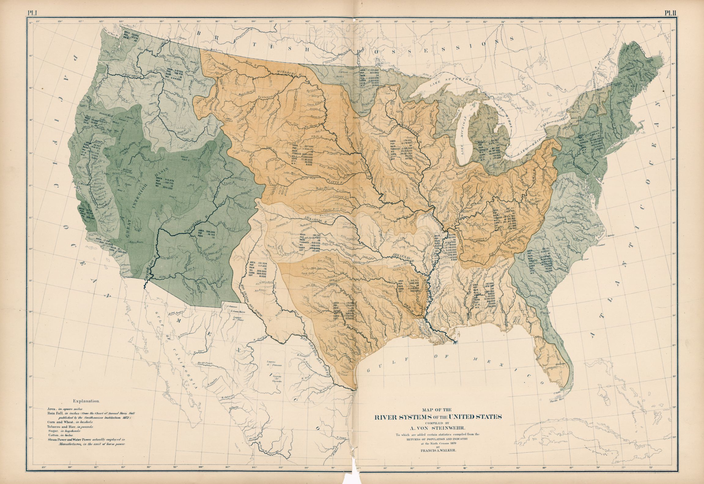 Or select from any of the 50 states for detailed. Map Of The River Systems Of The United States Library Of Congress