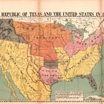 The Republic Of Texas And The United States In 1837 Library Of Congress