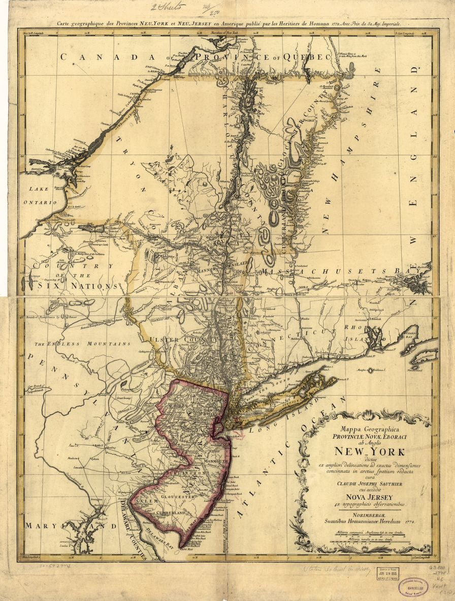 Map Available Online New York American Revolution And Its