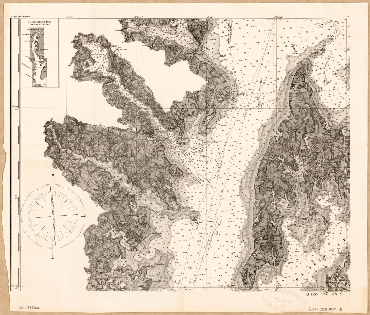 hight resolution of chesapeake bay watershed diagram