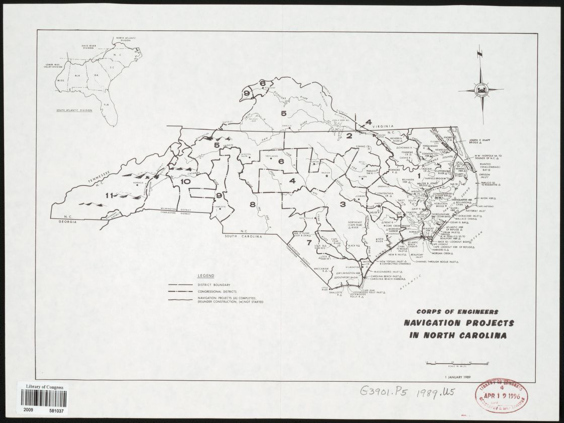 Map United States Army Corps Of Engineers
