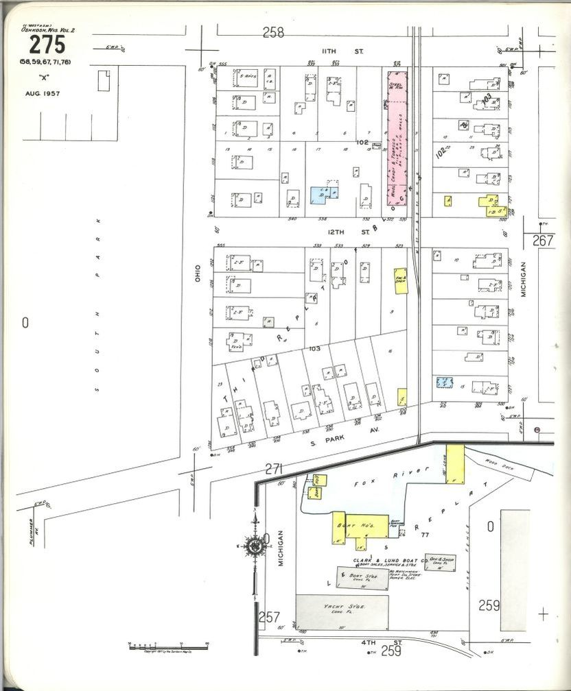 medium resolution of image 21 of sanborn fire insurance map from oshkosh winnebago county wisconsin library of congress