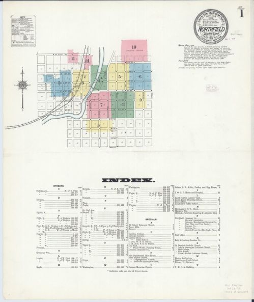 small resolution of sanborn fire insurance map from northfield rice county minnesota library of congress