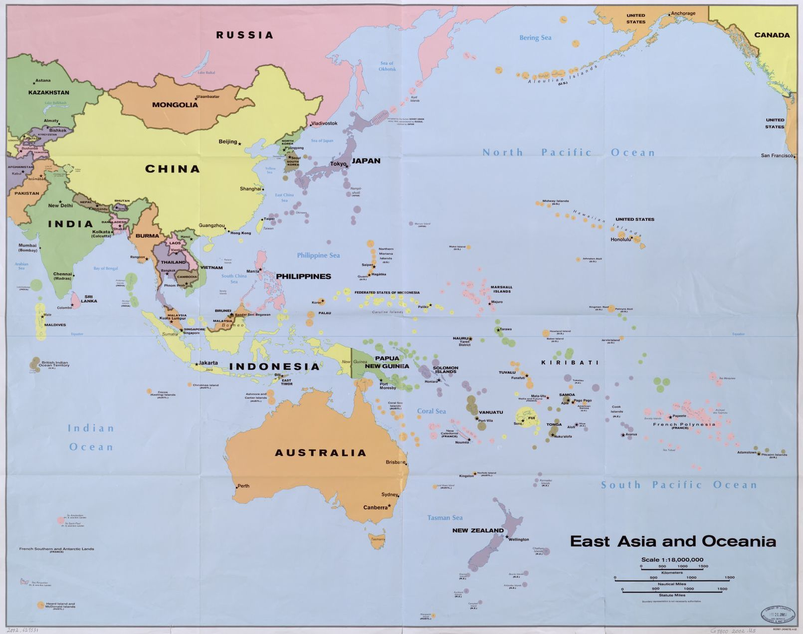 East Asia And Oceania