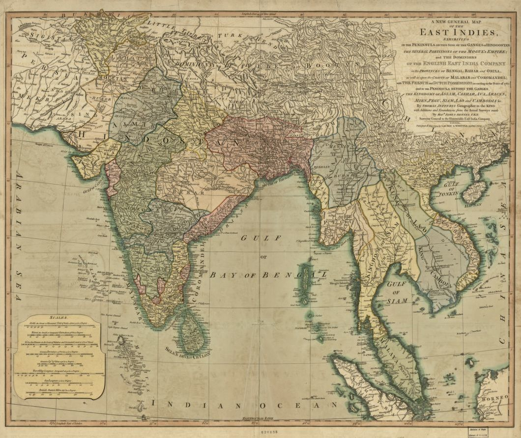 A New General Map Of The East In S Exhibiting In The