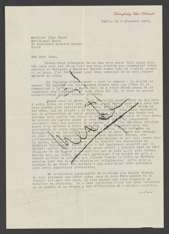 Je Suis Un Soir D été : été, Schmidt, Genet,, December, Library, Congress
