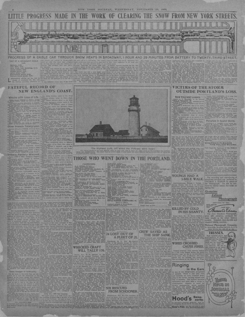 medium resolution of image 2 of new york journal and advertiser new york n y november 30 1898 library of congress