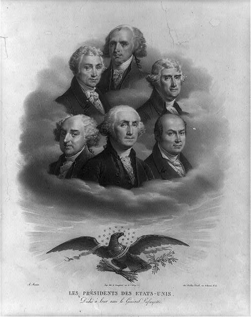 Les Presidents Des Etats Unis : presidents, etats, Présidents, Etats-unis, Maurin., Library, Congress