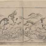 Wild Horses Running In Water Across A River Or In Surf Library Of Congress