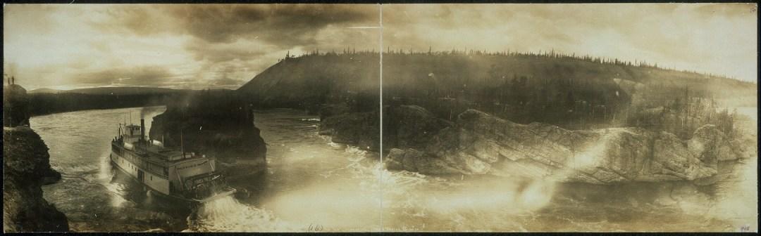 Panorama Image of Five Finger Rapids