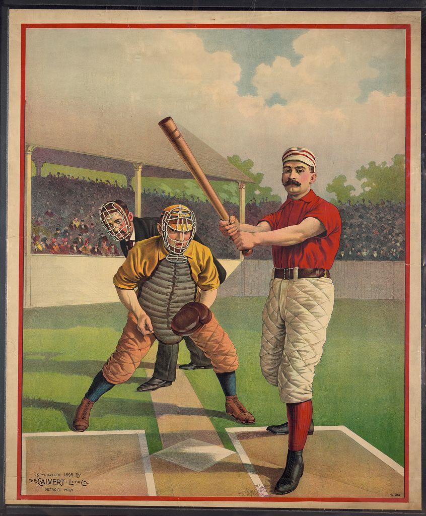 Full sheet base ball poster no. 281]   Library of Congress