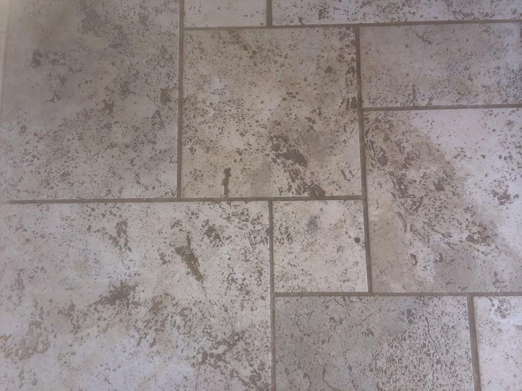 travertine kitchen floor cleaning