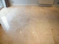 Limestone floor cleaning in Wilmslow, Cheshire.