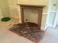 Natural Stone Fireplace Cleaning and Sealing Chipping ...