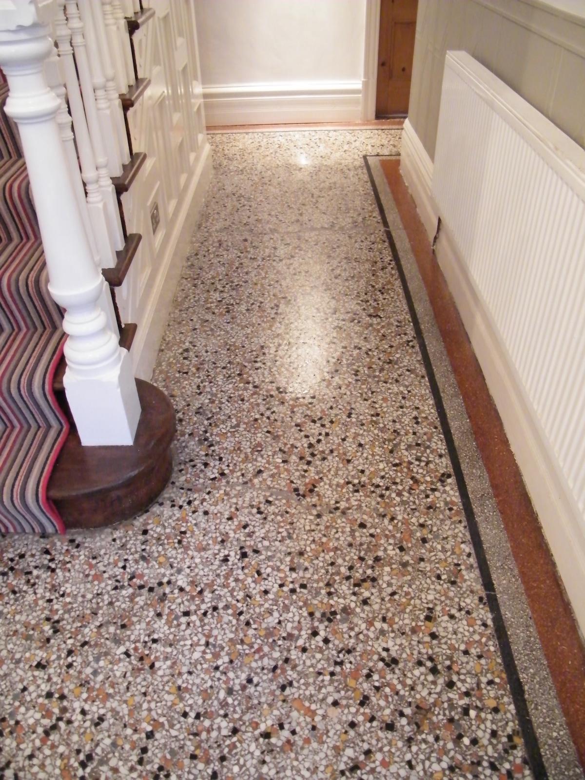 Terrazzo Cleaning Repairing Honing Polishing And