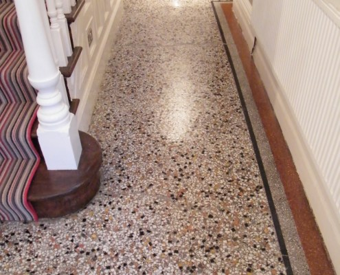 Terrazzo Floor Cleaning Birmingham Tile Stone Medic - How to clean and polish terrazzo floors
