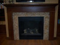 Mosaic Fireplace Surround on Pinterest