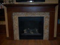 Mosaic Fireplace Surround on Pinterest | Mosaic Tile ...