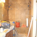 Full Kerdi master shower in Fort Collins, Colorado