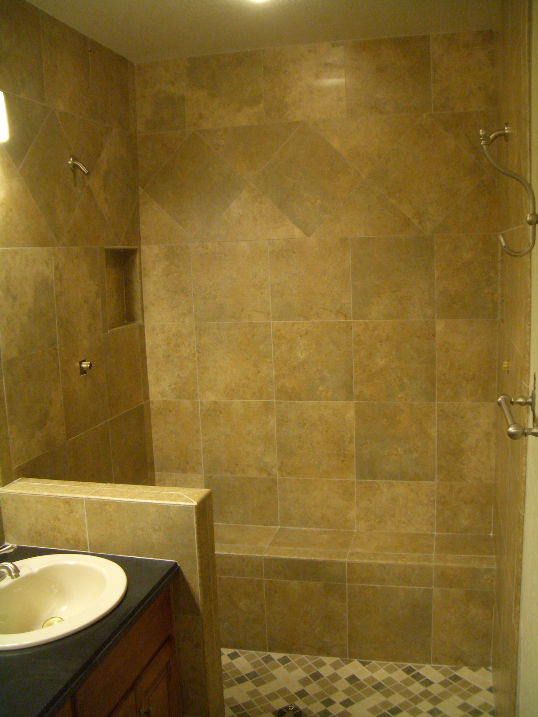 Full Tile Shower  Tile Design Ideas