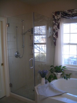 Frameless Glass Shower Enclosure in Fort Collins
