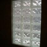 Glass Block window installation in Fort Collins, Colorado