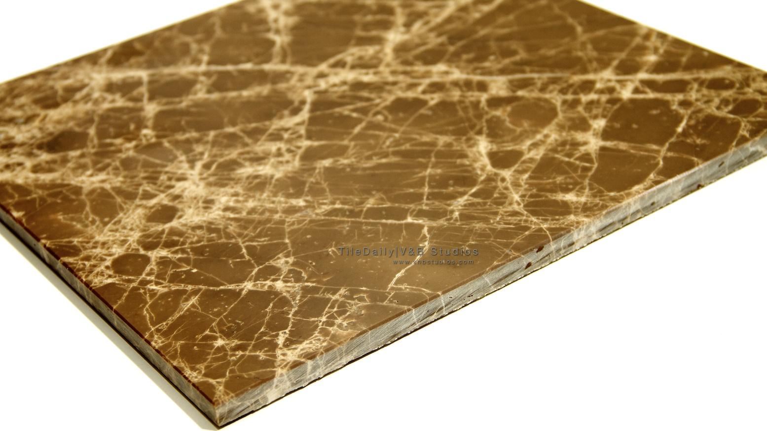 Cider Brown Marble Tile  tiledaily