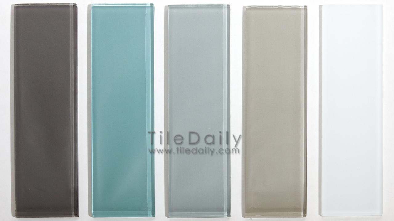 glass subway tile 5 colors tiledaily