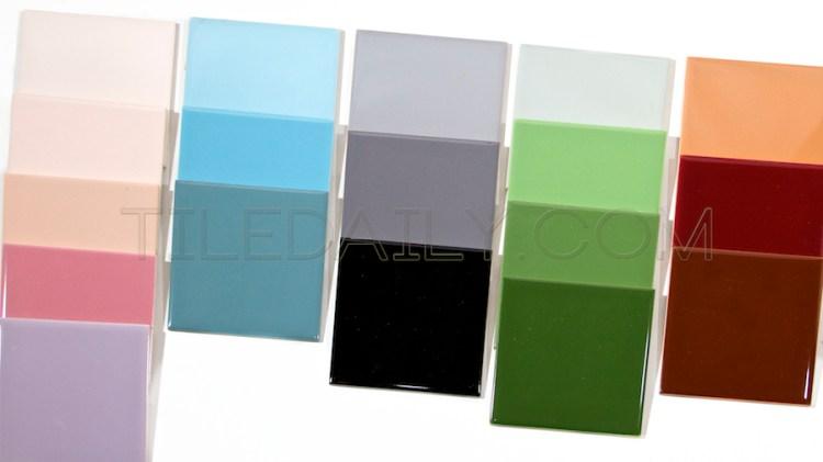 vintage ceramic 4 4 wall tile 18 colors tiledaily