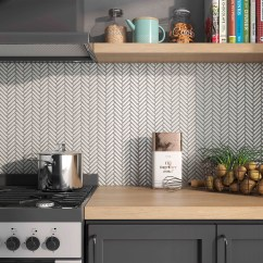 Retro Kitchen Tile Backsplash White Cabinets Design Tiledaily – Great Tiles, At Prices