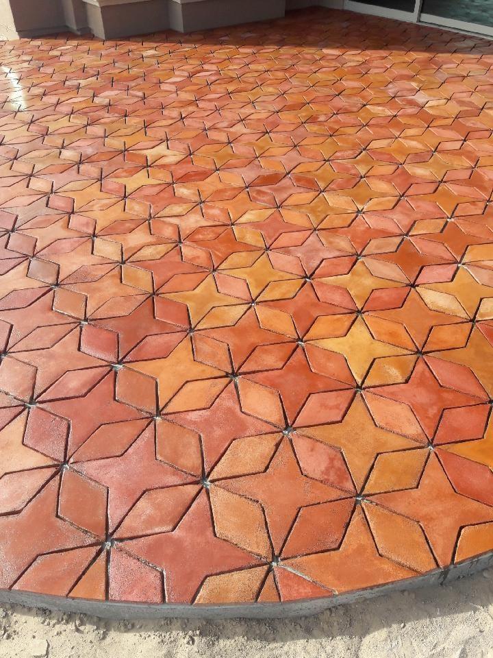 about tiles de santa fe
