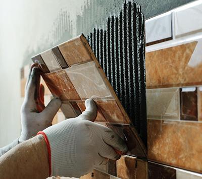 wall tile installation methods tile