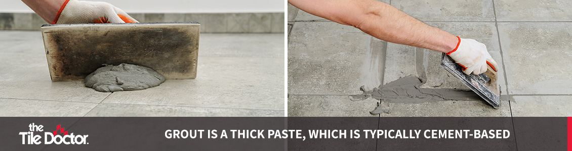epoxy grout vs cement grout tile doctor