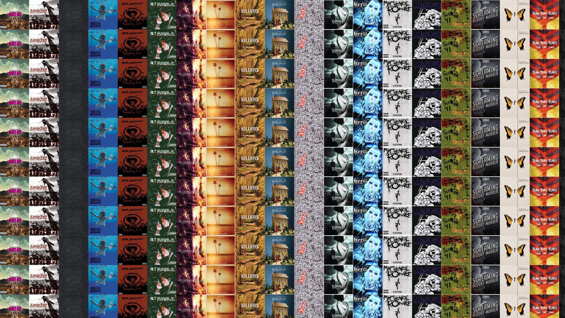 Fall Out Boy Laptop Wallpaper My Chemical Romance Danger Days Linkin Park Live Wallpaper