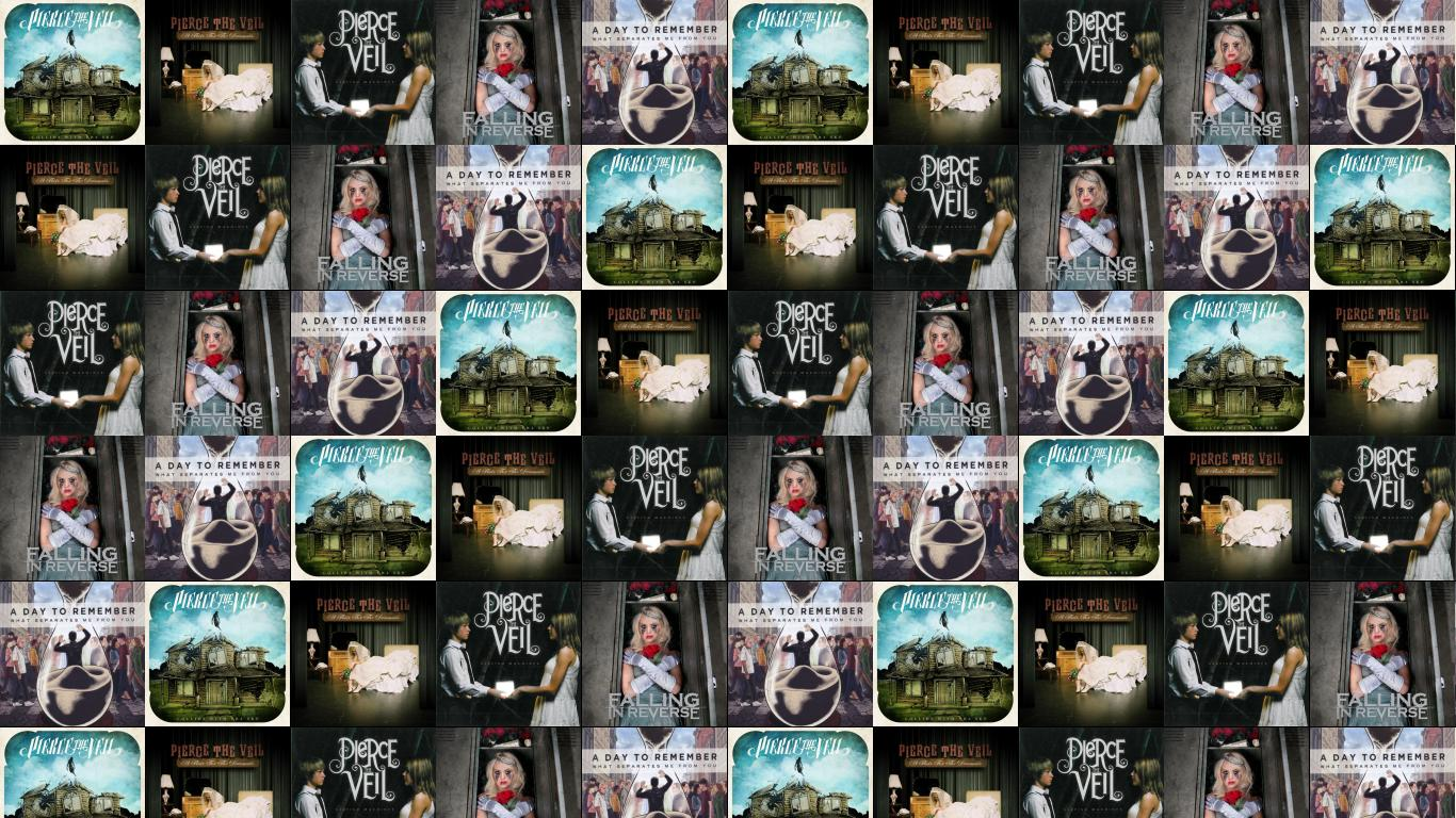 Falling In Reverse Computer Wallpaper Pierce The Veil Collide With The Sky A Wallpaper 171 Tiled