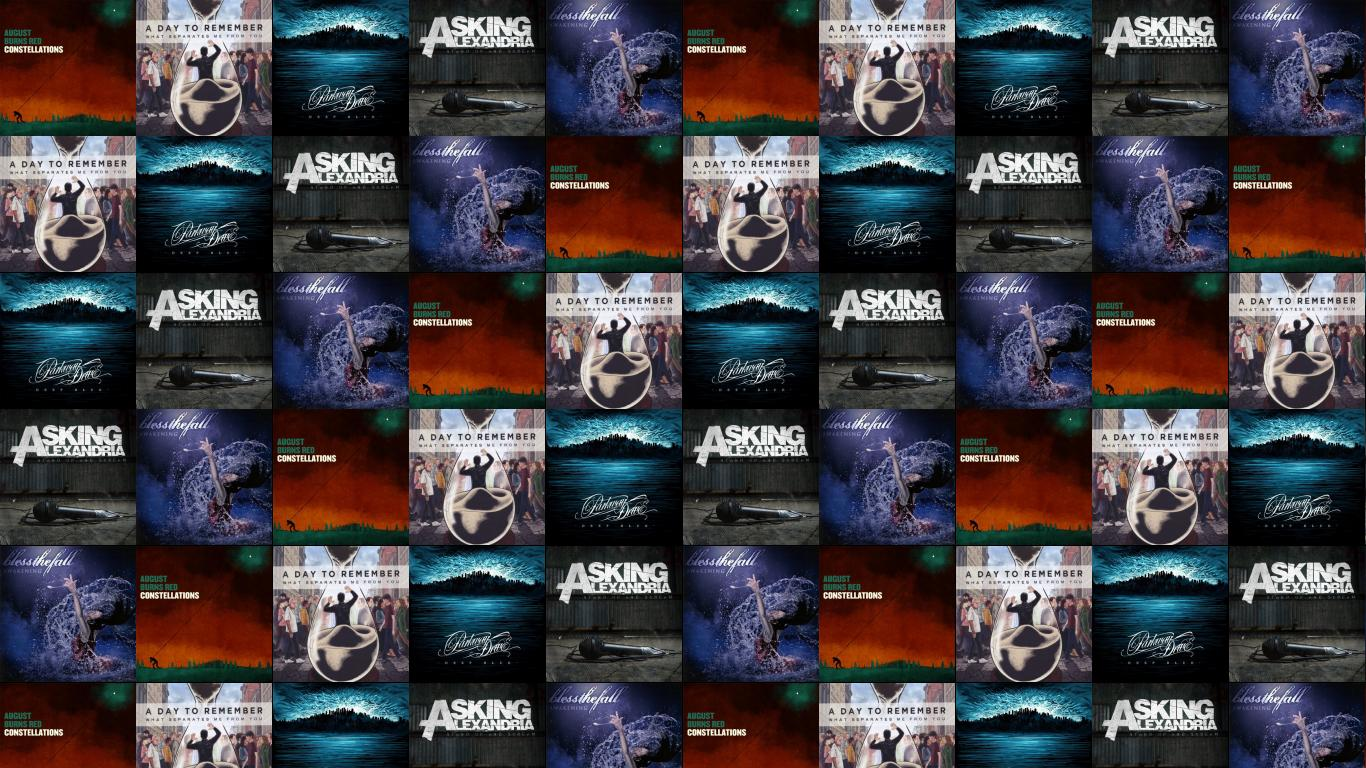 Falling In Reverse Wallpaper 1366x768 Asking Alexandra 171 Tiled Desktop Wallpaper