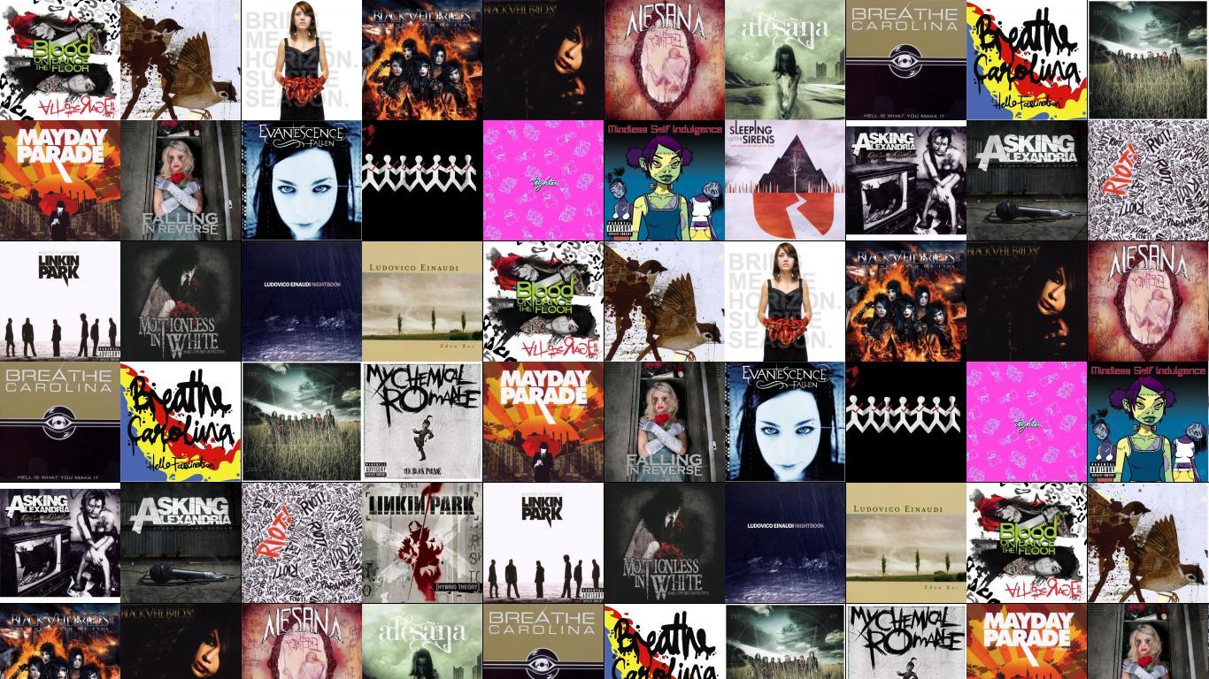 Falling In Reverse Wallpaper 1366x768 Linkin Park 171 Tiled Desktop Wallpaper