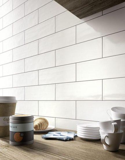 MUL 4x16 Subway Glossy White  Tile for Less Utah