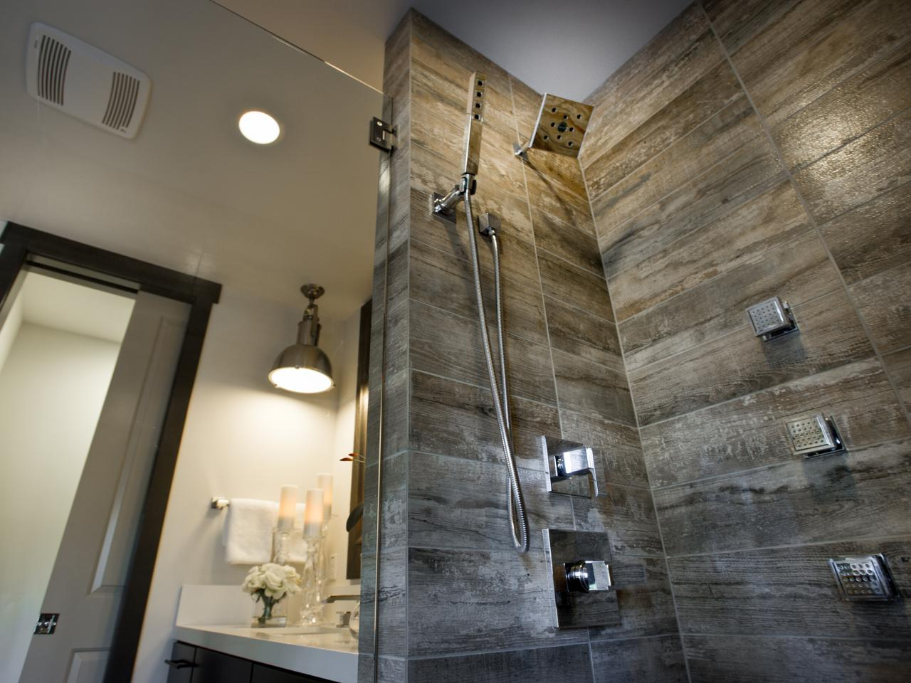 Wood Tile Bathroom 27 Ideas And Pictures Of Wood Or Tile Baseboard In Bathroom