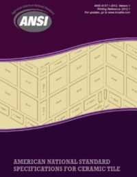 American National Standards Installation Ceramic Tile ...