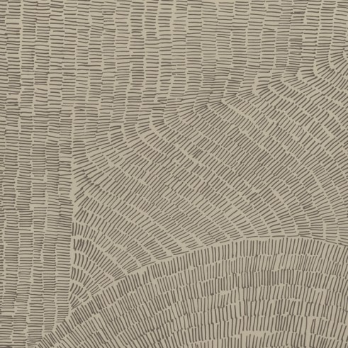 Detailed view of Fossil's tile pattern and graphics